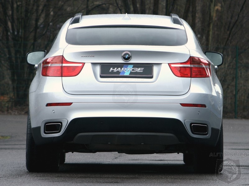 Hartge Offers New Exhaust Options For Bmw X6 Xdrive50i